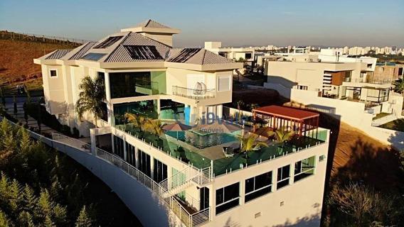 Casa Com 5 Suites À Venda, Condomínio Urbanova - São José Dos Campos/sp - Ca1242