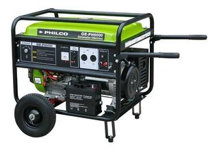 Generador Eléctrico Grupo Electrógeno Philco 5500w Ge-ph6000