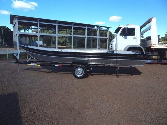 Promoção Casco Barco Aluminio Fortboat Life 600 5,90m Novo