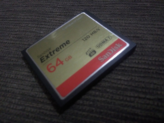 Cartão Cf Sandisk 64gb Extreme
