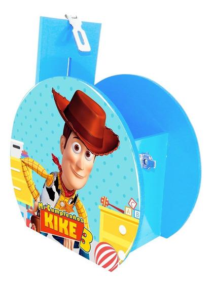 Alcancía Dulcero Centro Mesa Toy Story Woody Personalizado