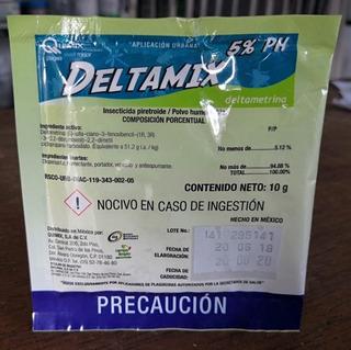 Deltametrina Insecticida Efecto Inicial Y Residual 1l