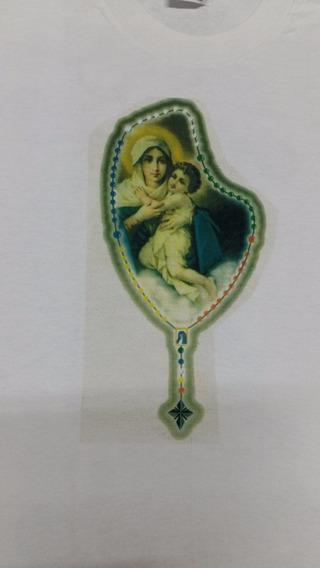 Camiseta, Remera De La Virgen Maria Y El Niño Jesús