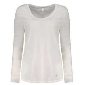 5d908fa6d46 Camiseta Under Armour Streaker Manga Longa Feminina Branca