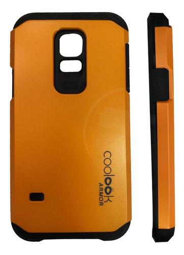 Carcasa Protectora Telefono Samsung Galaxy S5 Mini Naranja