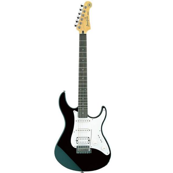 Guitarra Stratocaster Yamaha Pacifica112j Preta Com 22 Tras