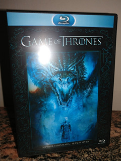Blu-ray Game Of Thrones Temporada 7 Completa