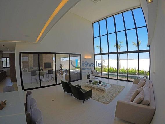 Casa Luxuosa À Venda, Condomínio Alphaville São José Dos Campos-sp - Ca1009
