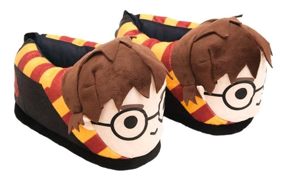 Pantufa Harry Potter 3d Original Ricsen Solado De Borracha