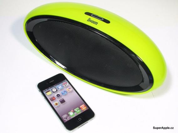 Caixa De Som Bluetooth 20w Rms Divoom Bluetune 2 - Amarelo
