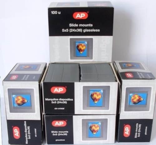 Molduras Plásticas Para Slides Ap 5x5 100 Unidades