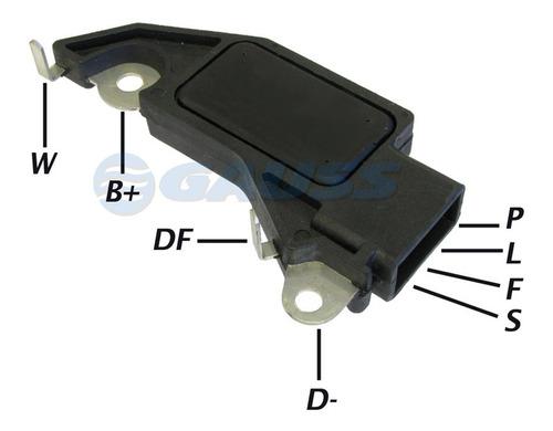 Imagen 1 de 7 de Regulador De Alternador Delco Chevrolet Monza/da Plfs