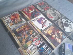 Lote Com Jogos De Sega Saturno Originais