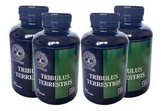 4 Tribulus Terrestris Puro 100% Original 480cap Frete Grátis