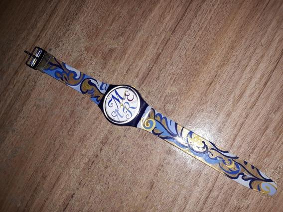 Antigo Relógio Anos 90 Swatch Suisso Série Especial Amar É
