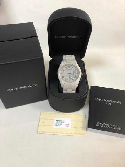 Relógio Emporio Armani Ar1459 Com Caixa E Garantia