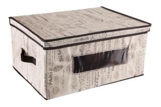 Paquete 6 Caja Cajas Organizador Archivo Carton Decoracion