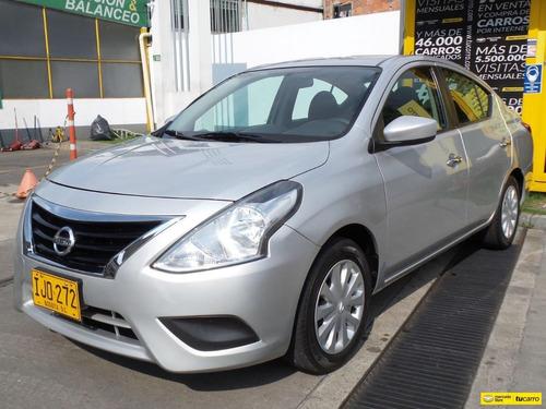 Nissan Versa Sense Pure Drive At 1600 A.a F.e, 2ab