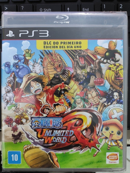 Playstation 3 One Piece Unlimited World Red