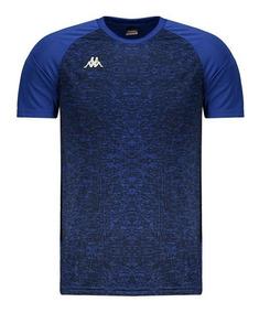 Camisa Kappa Matteo Royal Azul