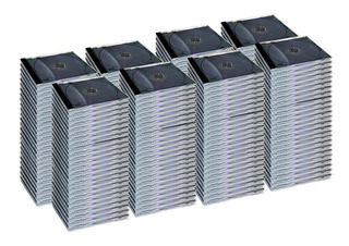 Caja Plastica Cd Single 10.4 Mm Pack 100 Un. Calidad Premium