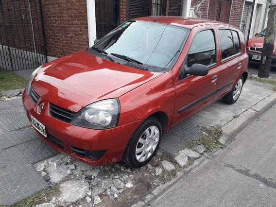 Renault Clio 1.2 Authentique Pack Ii 75cv 5 Ptas.mod.2012