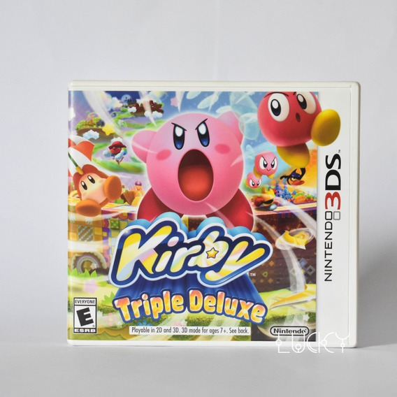 Kirby Triple Deluxe Com Luva - Nintendo 2ds/3ds