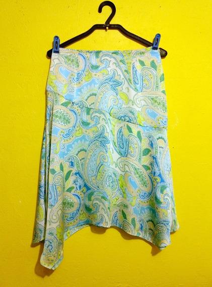 Falda Marca Wanko Verde Con Azul Talla Grande