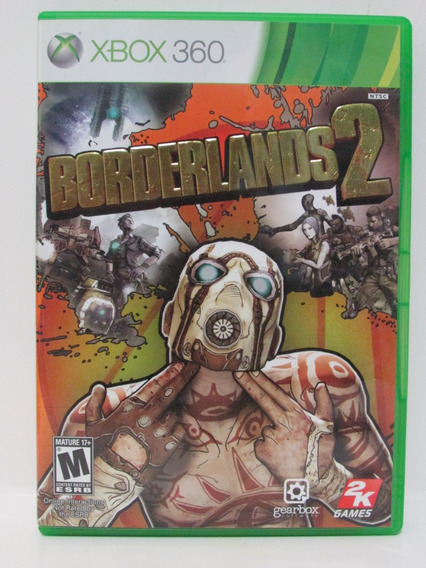 Borderlands 2 - Game Xbox 360 Original Completo Mídia Física