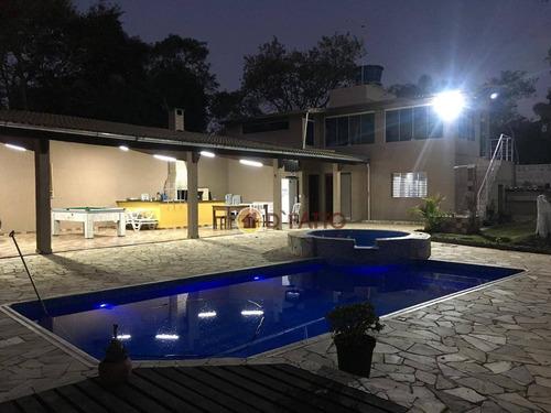 Chácara Com 6 Dormitórios À Venda, 2000 M² Por R$ 790.000,00 - Mata Fria - São Paulo/sp - Ch0025