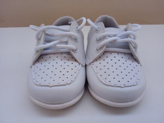 Sapato Social Bebê Branco
