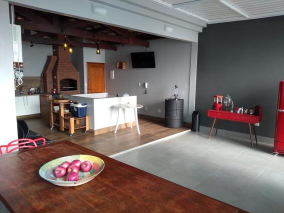 Cobertura 130m², 2 Dorm, 1suíte, 3 Banh, Barcelona, Scs