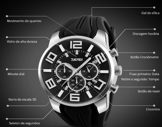 Relógio Masculino, Esportivo, Skmei Original