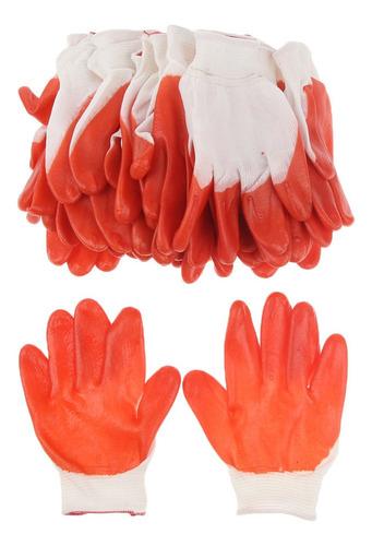 Proteção 200mm 12 Pares Da Mão Da Luva De Borracha