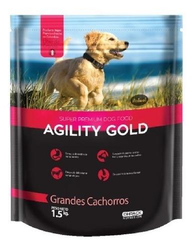 Agility Gold Grandes Cachorros  15kg - kg a $14333