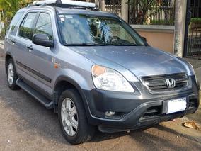 Honda Cr-v + Asientos Cuero + Recien Pulido