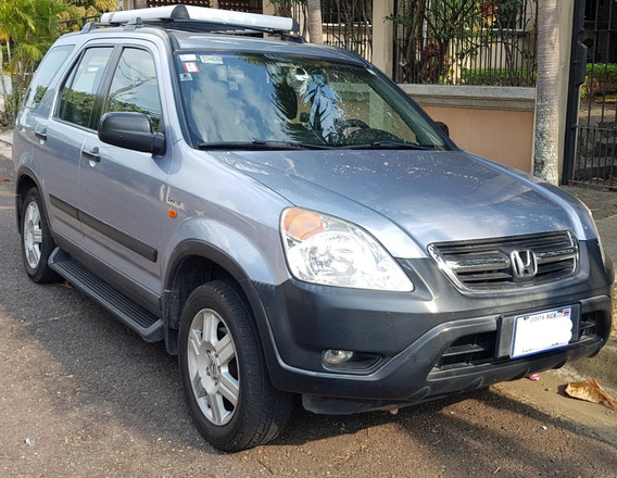Honda Crv Con Asientos Cuero Y Recien Pulido 2004