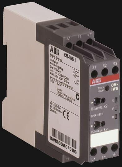 Rele Monitor De Isolação Abb Cm-iws.1