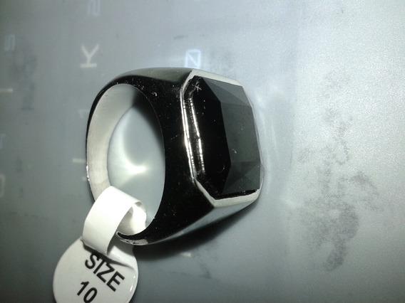 Black Onyx Premium Titanium Steel Obsidian Men