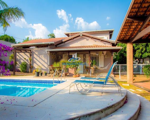 Casa No Parque Taquaral Capa De Revista! Deslumbrante! - Ca01102 - 4766826