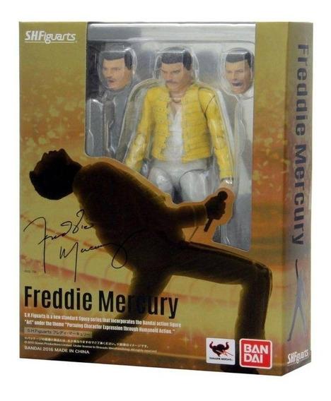 Freddie Mercury - S.h. Figuarts Bandai Original Colecionável