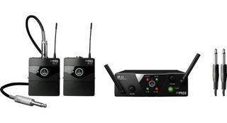Sistema Dual Inalámbrico P/ Instrumento Akg Wms40 Mini