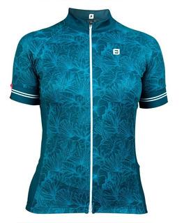 Camisa Ciclismo Feminina Donna Floratta Furbo
