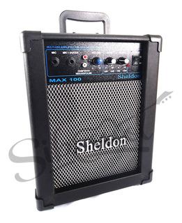 Caixa Multiuso Guitarra Sheldon Max 100, 15w Rms - Bivolt