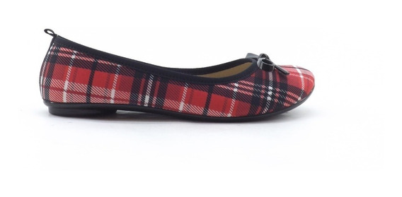 Zapatos Sin Taco Chatitas Moleca Moño Liquidacion 5314.506