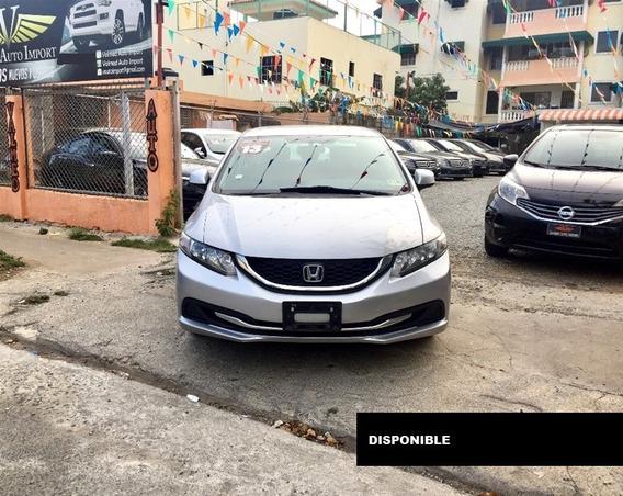 Honda Civic Lx 13 Gris