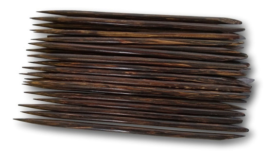 Palitos De Unhas E Cutículas Feito De Coco Ref: 9441 (dúzia)