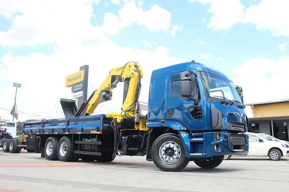 Truck Ford 2429 6x2 Carroceria Munck = Nhg Hyva Madal