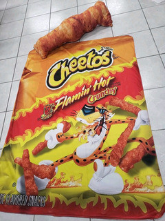 Cobija De Diseños, Cobija Cheetos
