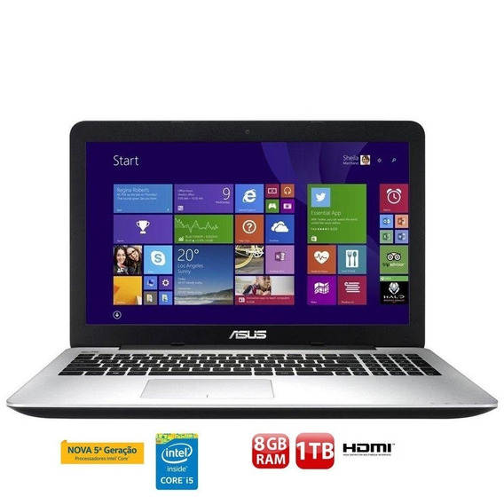 Notebook Asus K555l I5-5200u 8gb Geforce 940m 1tb 15,6 Gamer